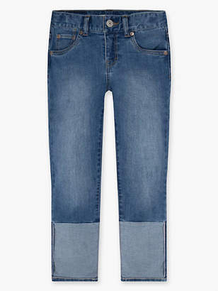 Levi's Girls 7-16 Crop Girlfriend Jeans 8