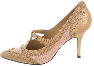 Tory BurchTory Burch Embossed Mary Jane Pumps