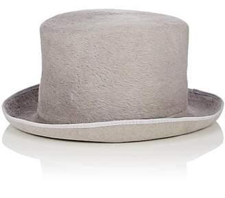 FILUHATS Women's Cilindro Fur Felt Top Hat - Gray