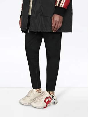 Gucci Printed rhyton sneaker