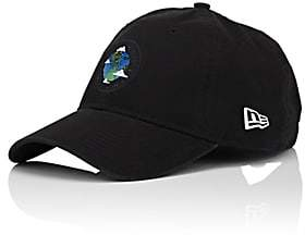 New Era HAAS BROTHERS X Kids' Earth-Motif Cotton Baseball Cap-Black