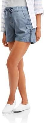 Whoa, Wait. Women's Utility Shorts