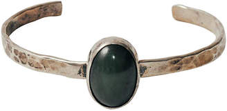 One Kings Lane Vintage Sterling Silver & Chalcedony Cuff - Maeven