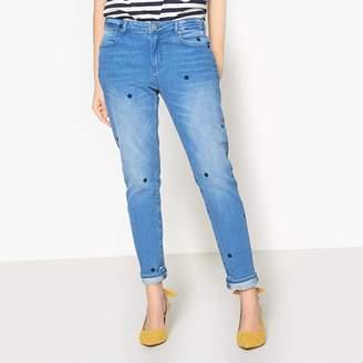 Maison Scotch Embroidered Skinny Jeans