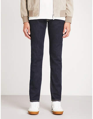 Jacob Cohen Faded tailored-fit tapered jeans