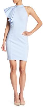 Love...Ady Mock Neck Ruffle Bodycon Dress