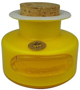 One Kings Lane Vintage Holmegaard Cased Glass Spice Jar - Acquisitions Gallerie