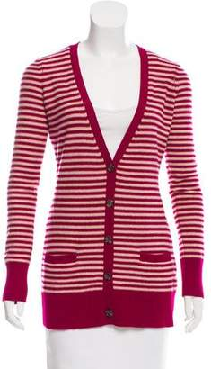 Joie Striped Cashmere Cardigan