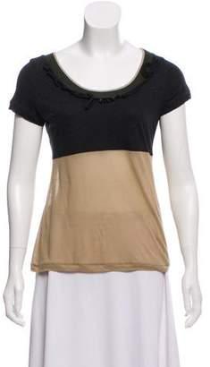 Marni Colorblock Short Sleeve Top