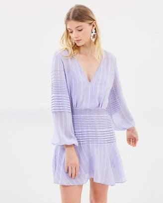 Chaleur Long Sleeve Mini Dress