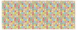 East Urban Home Julie Hamilton Colorful Check Checkered Bed Runner East Urban Home
