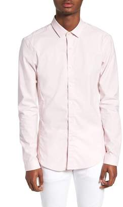 Topman Muscle Fit Textured Shirt