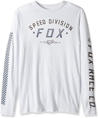 Fox Men's Ground Fog Long Sleeve Tee, light heather grey