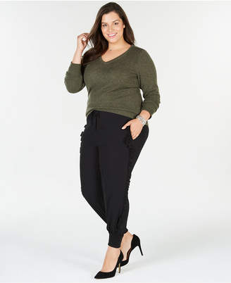 Charter Club Plus Size Cashmere V-Neck Sweater, Created for Macy's