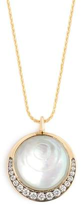 Noor Fares - Svadhisthana Diamond & 18kt Gold Necklace - Womens - Grey