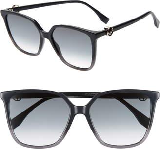 be736a2fae07f Fendi Gray Women s Eyewear - ShopStyle