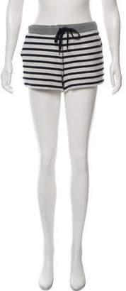 Alexander Wang Striped Mini Shorts