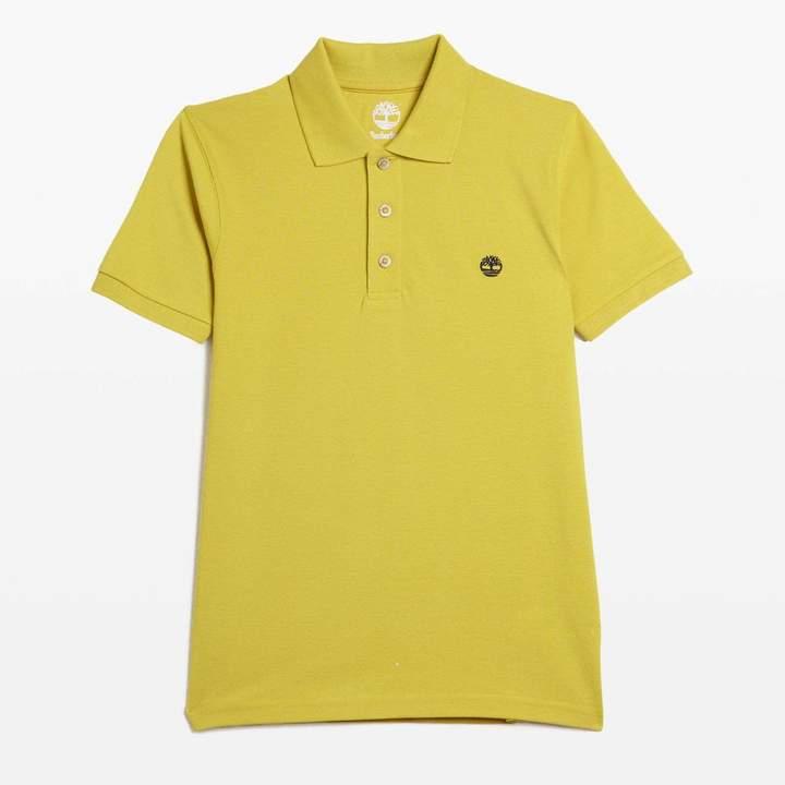 Kurzärmeliges Poloshirt - grün