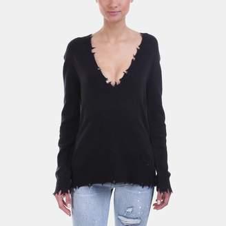 Iro . Jeans Iro Jeans Brody Shredded Sweater