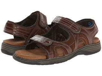 Nunn Bush Randall Two-Strap Sandal Men's Flat Shoes