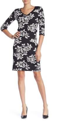 Taylor V-Neck Floral Midi Dress