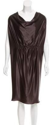 Lanvin Silk Sleeveless Dress