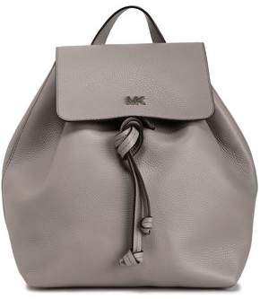 MICHAEL Michael Kors Textured-leather Backpack