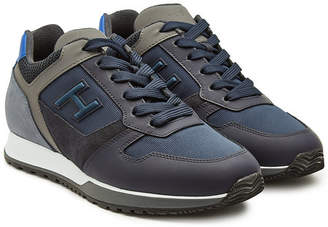 Hogan H321 Sneakers with Leather and Mesh