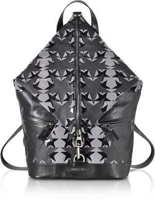 Jimmy Choo Fitzroy GNY Graphic Stars Print Fabric Backpack
