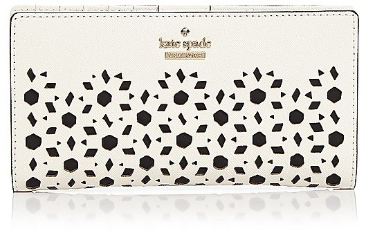 Kate Spadekate spade new york Cameron Street Stacy Perforated Leather Wallet