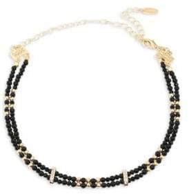 Ettika Double-Row Onyx Choker