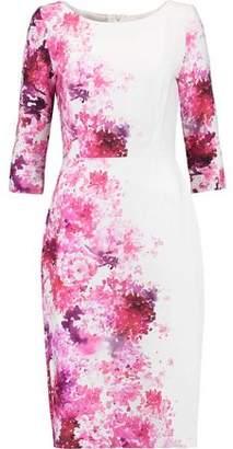 Goat Printed Crepe Dress