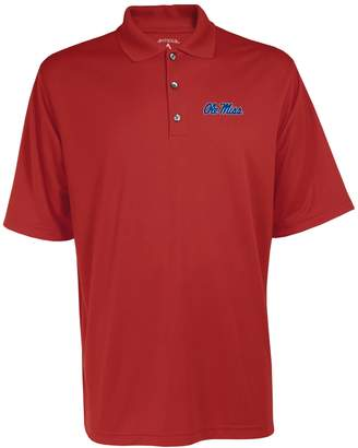 Antigua Men's Ole Miss Rebels Exceed Desert Dry Xtra-Lite Performance Polo