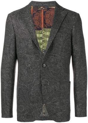 Etro paisley patterned blazer