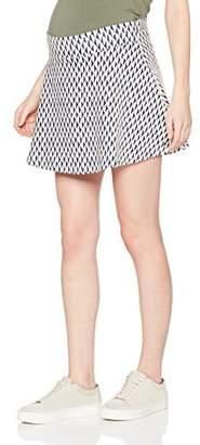 Esprit Women's Jersey OTB Jaquard Skirt,(Manufacturer Size:X-Large)