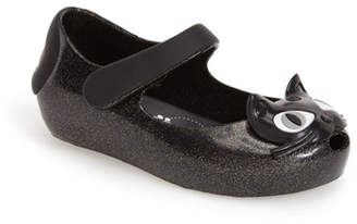 Mini Melissa Ultragirl Cat Mary Jane Flat (Toddler) $60 thestylecure.com