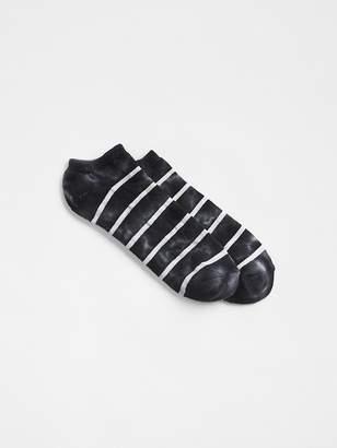 Gap Stripe Tie-Dye Ankle Socks