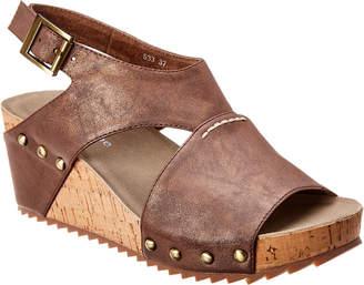 Antelope 585 Leather Wedge Sandal