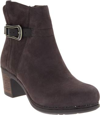 Dansko Nubuck Leather Ankle Boots - Hartley