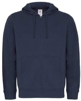 BC B&C Mens Full Zip College Hooded Sweatshirt/Hoodie (XL)