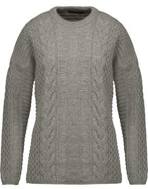 Belstaff Katriona Cable-Knit Wool And Cashmere-Blend Sweater