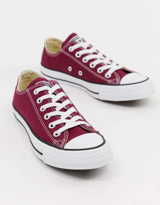 Converse Chuck Taylor All Star ox burgundy sneakers