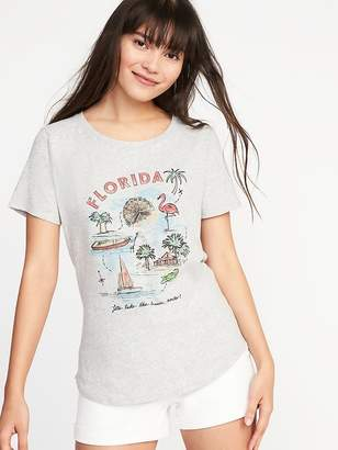 """Old Navy """"Florida"""" Graphic Tee for Women"""