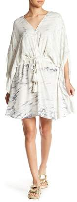 Young Fabulous & Broke YFB by Charlotte Kimono Sleeve Patterned Dress