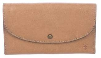 Frye Lucy Leather Flap Wallet