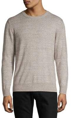 Selected Heathered Crewneck Pullover