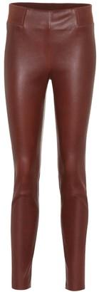 Brunello Cucinelli Leather leggings