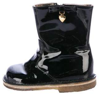 Dolce & Gabbana Girls' Patent Leather Boots