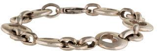 Tiffany & Co. Stencil Heart Link Bracelet $225 thestylecure.com