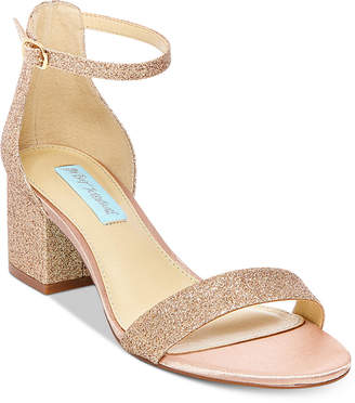 Betsey Johnson Blue By Miri Evening Sandals, Created for Macy's Women's Shoes